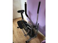 2in1 cross trainer/exercise bike. Good condition. Need gone asap, selling due to needed space.