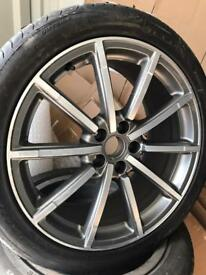 "Audi Q3 19"" s line rs alloys tyres genuine"