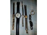 Six vintage watches bargain