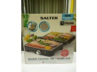 Salter Marble Ceramic 180 Health Grill with variable temperature for sale