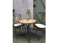 Moroccan Style Two-Seater Bistro Garden Set
