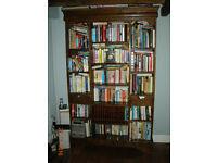 Solid Oak Bookcase