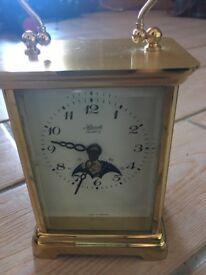 Brass effect Carriage Clock