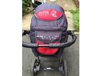 Junior pram pushchair stroller buggy from Baby-Merc