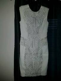 White dress size 10 perfect condition