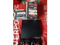 Ps3 30 games and 2 controllers