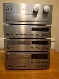 Yamaha AX-9 stereo system