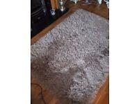 Light Mink coloured rug