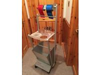 Foil cutting trolley with four extra Foils