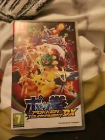 Pokken tournament dx switch game