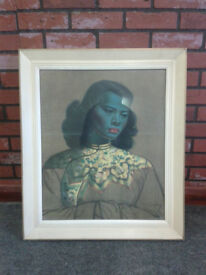 Original framed Tretchikoff print - The Chinese Girl