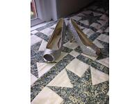 Silver court shoe size 7