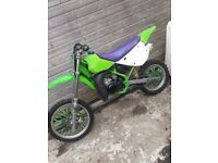 Kx80 Motocross bike NEW REBUILD Lt50 lt80 kx65 kx85 cr85 yz