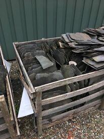 Scottish roof slates