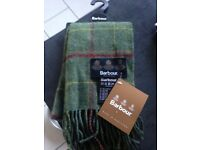Brand new Barbour scarf still tags on