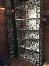Ikea DVD/CD unit and wall shelves