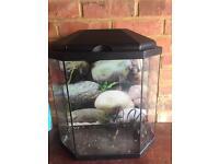 25L Aquarium Fish Tank with LED light