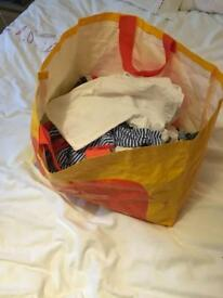 Bag of baby boys clothes 6 - 9 months