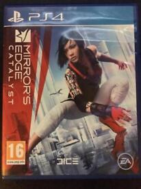 Mirror's Edge Catalyst. PS4.
