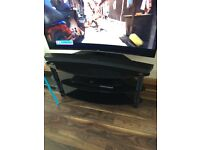 Black Glass TV/Video unit - FREE OF CHARGE