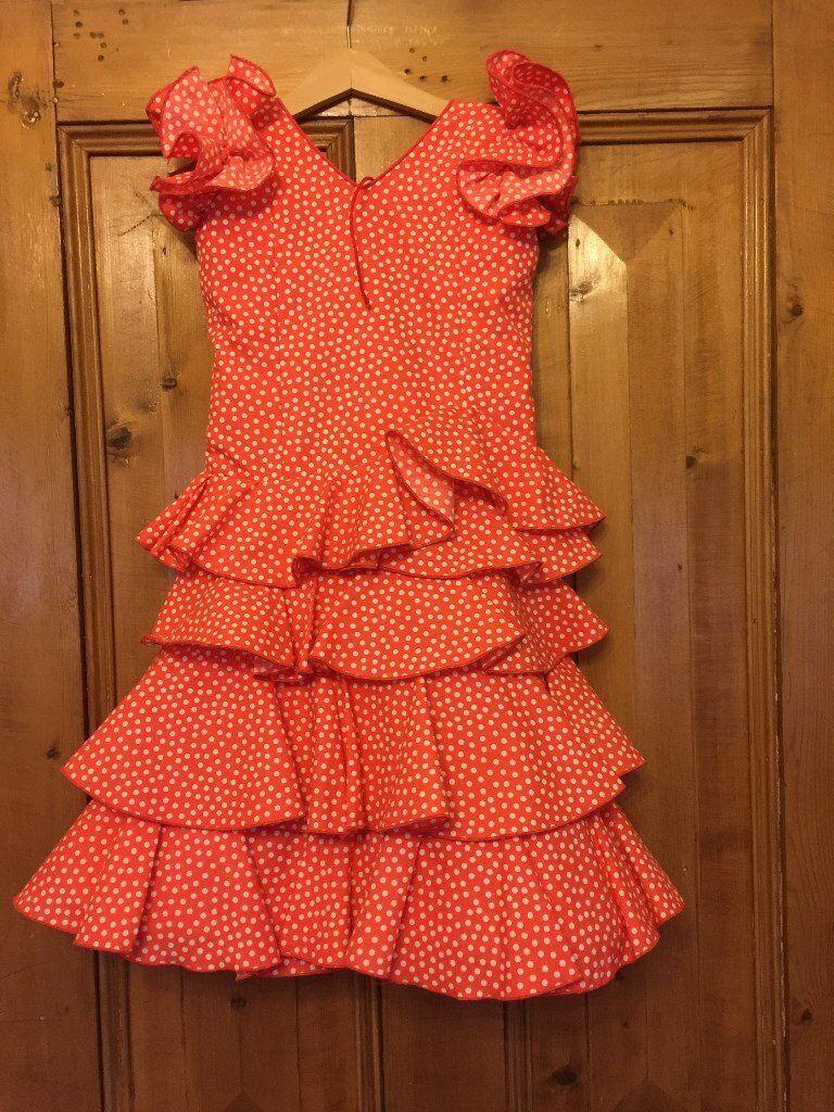 Girls Flamenco Dress
