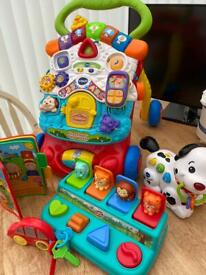 Vtech and Chad valley bundle