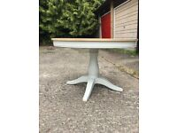 Brand new, solid oak dining table