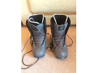 Nitro Sentinal Grey Snow Boots Size 9