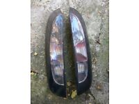 * * * Vauxhall Corsa C SXi rear lights, Smoked look, fits 3dr and 5dr models * * *