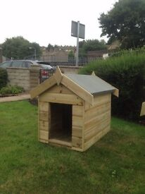 3x2 Wooden Apex Dog Kennel T&G Throughout 3FT x 2FT