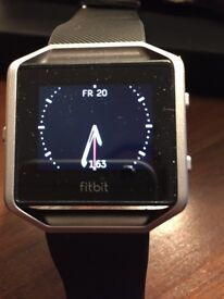 Genuine bargain Men's Black Fitbit Blaze large. Bought as a present and not into fitness.