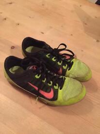 Nike UK size 6 running spikes