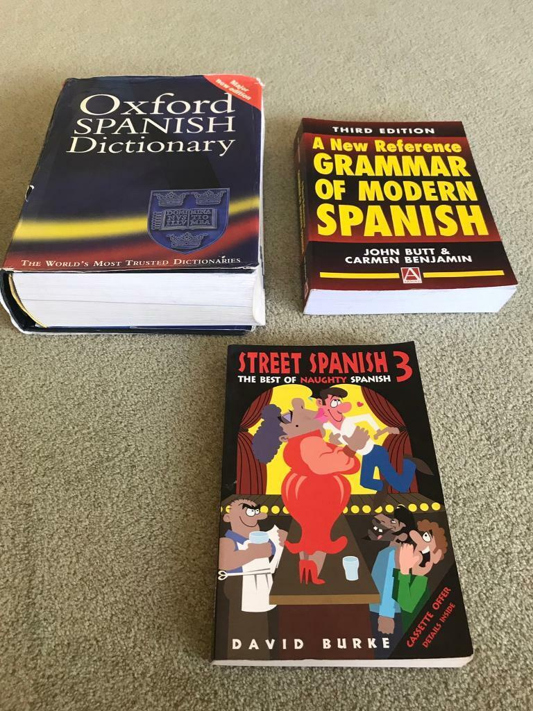 Spanish Dictionary/Grammar Books | in Horsforth, West Yorkshire | Gumtree
