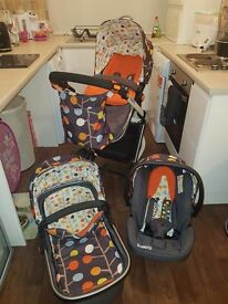 Cosatto Giggle travel system for sale.