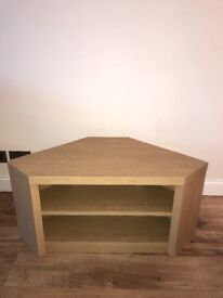 Next opus corner tv unit oak