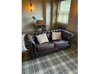 Chesterfield sofa bed double
