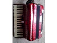 accordion baile 120 bass good condition lake new