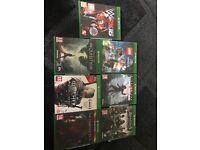 7 Xbox one games bundle