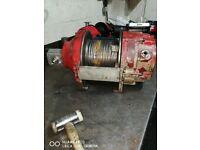Pullmaster PL5D Free Fall Hydraulic winch