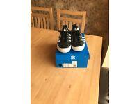 Adidas Samba Black & White Leather trainers
