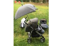 Silver cross buggy/travel system and all accesories