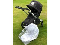 "Pram Stroller ""all in one"" Pushchair car seat baby seat"