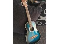 Mini Electric Acoustic Guitar