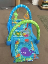 Baby play gym 3 in 1