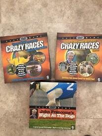 Crazy Races DVD 3 Family Fun Party Games Mint and Unused
