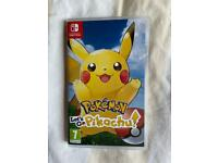 Pokemon Nintendo switch game