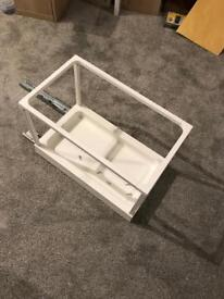 Ikea Utrusta Pull-out waste-sorting tray for kitchen cabinet
