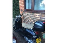 Black Vespa for sale - no longer using sad to see it go