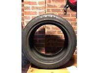 """Tyre 17"""" tyre part worn 225/45/zr17 nexen"""