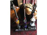 Dyson dc33 - dc50 and a dc24 hoover